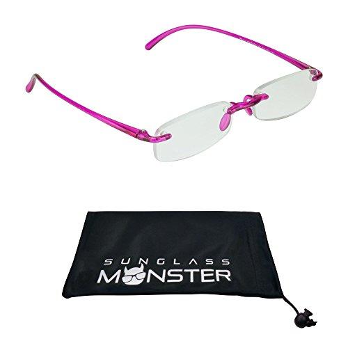 Reading glasses Rimless Lightweight frame for - Frames Ultra Glasses Lightweight
