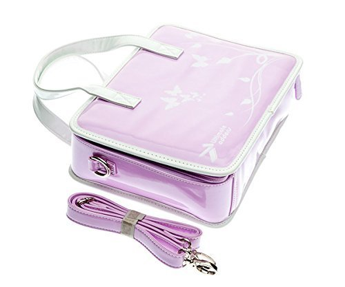 Ultimateaddons Violet Girls Travel Vinyl PU Handbag suitable for vTech  InnoTab Max Learning Tablet  Amazon.co.uk  Toys   Games 27d52f6256565