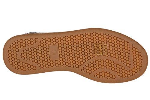 Moa Meester Van Kunst Damesschoenen Lederen Sneakers Sneakers Wit