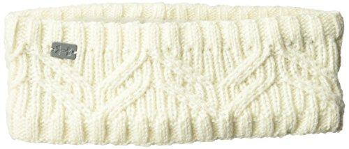 Under Armour Women's Around Town Headband, Ivory (130)/Steel, One Size -