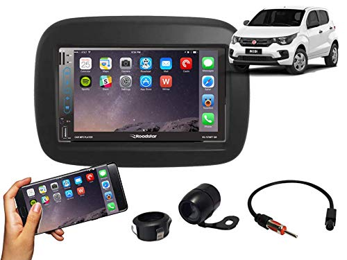 Central Multimídia Fiat Mobi Gps Tv Esp. Android E Ios PRETO