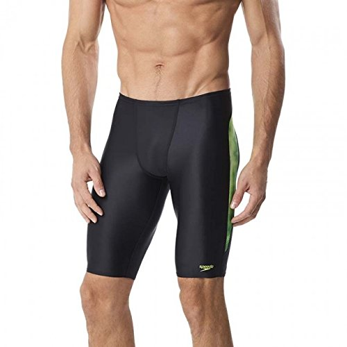7ce4942d23354 Speedo 7705824 Men's Time Lapse Prolt Jammer, Purple - 32