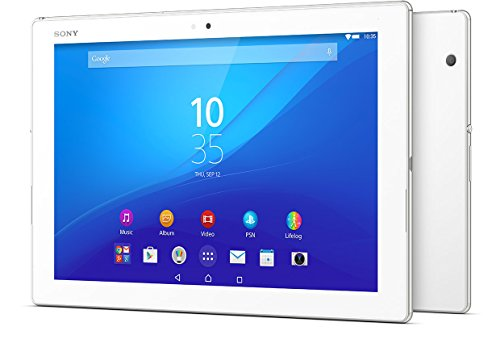 Sony Xperia Z4 Tablet SGP771 32GB 10.1-Inch LTE Factory Unlocked Tablet (White) - International Version No Warranty