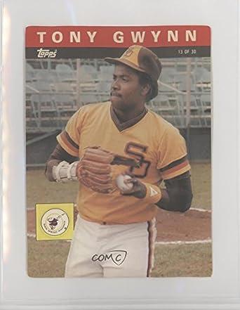 Amazoncom Tony Gwynn Baseball Card 1985 Topps 3 D