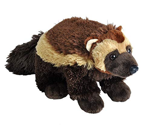 (Wild Republic Wolverine Plush, Stuffed Animal, Plush Toy, Gifts for Kids, Cuddlekins 12 Inches)