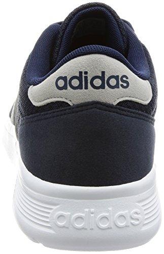 Adidas Mænds Lite Racer, Flåde / Grå / Hvid Hvid-grå-Flåde