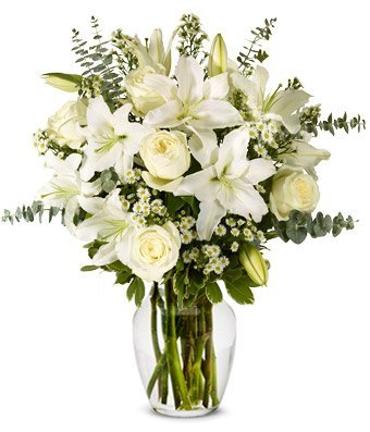 Blossoming Lilies - Same Day Funeral Flower Arrangements - Buy Flowers for Funeral - Send Funeral Flowers Delivery & Condolence Flowers Today