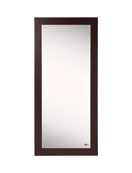 Amazon.com: American Made Rayne Dark Mahogany Floor Mirror - 30.5\