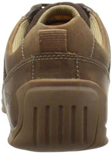 Cat Footwear Cumulate - Zapatillas de deporte de cuero para hombre Marrón