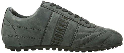 Bikkembergs 641,021 Sneakers Unisex-adulti Grigio (antracite)