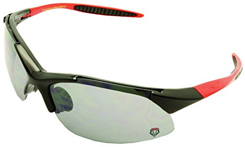 NCAA New Mexico University Lobos Semi Rimless Sport Wrap Sunglasses (New Football Sunglasses)