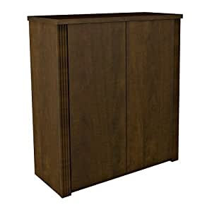 amazon storage cabinets bestar prestige two door cabinet in 10556