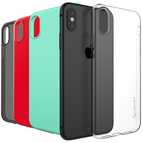 iPhone-XsX-Case-Luvvitt-Clarity-Case-with-Light-and-Slim-Flexible-TPU-Rubber-Protection-for-iPhone-XsX-2017-2018