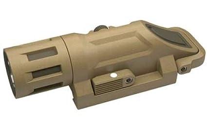 inforce wml weapon mounted light white led 200 lumens desert