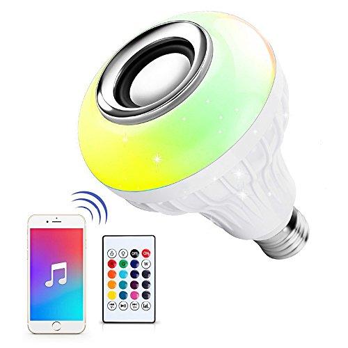 led speaker light bulb