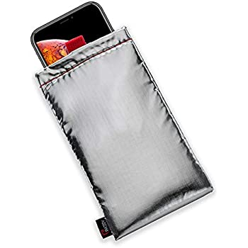 PHOOZY Thermal Phone Case - Helps Prevent OVERHEATING in The Sun, EXTENDS Battery Life and Floats in Water. Fits iPhone 8/XR/11 Pro, Galaxy S9/S10 and Similar Sized Phones [Apollo Silver in Plus Size]