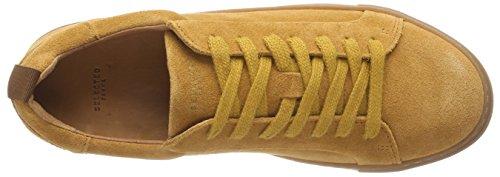 FEMME Ginger Jaune Trainer Femme Glazed SELECTED Suede Ginger Slfdonna B Basses Glazed Sneakers dUngFqw