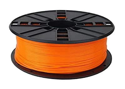 Orange ABS 3D Printer Filament 3mm 1kg