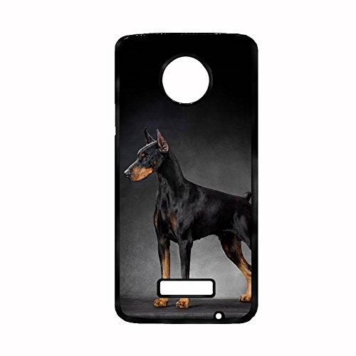 Tyboo Plastic Phone Shells Children Printing Dobermann Dog For Motorola Z Force -