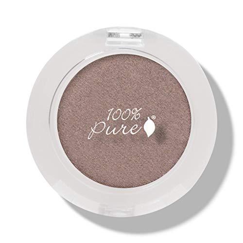 100% Pure Pressed Powder Eye Shadows, Quartz, 0.07 Ounce Copper Pure Eye Shadow