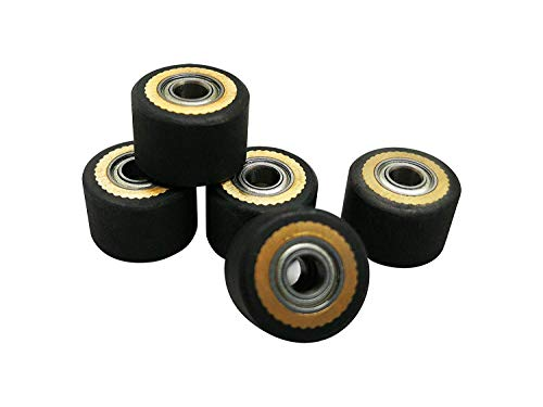 5pcs HQ Pinch Roller for Roland GCC LiYu Rabit Pcut Mimaki Graphtec Iolion Cutter Plotter 4x10x14 (Roller Pinch Plotter Mimaki For)