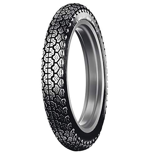 - Dunlop K70 Front/Rear Tire (3.50-19 Tube Type)