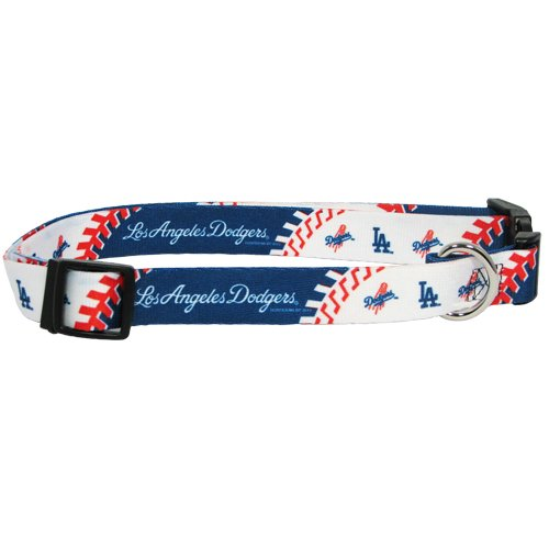 Hunter MFG Los Angeles Dodgers Dog Collar, Extra Large