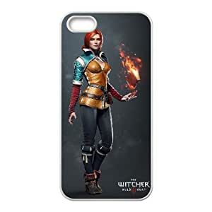 iPhone 5 5s Cell Phone Case White The Witcher 3 Wild Hunt review Triss Merigold LV7068267