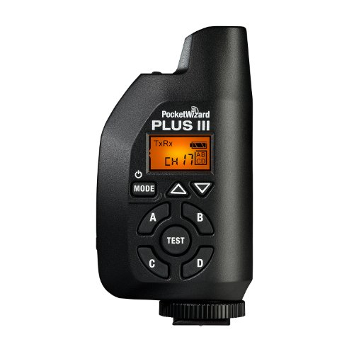 PocketWizard Plus III Transceiver Black (Wizard Pocket)