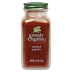 Simply Organic Smoked Paprika, Certified Organic, Vegan | 2.72 oz | Capsicum annuum