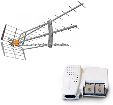 Televes Pack antena DAT HD BOSS 790 LR 4 G LTE 19dB especial ...