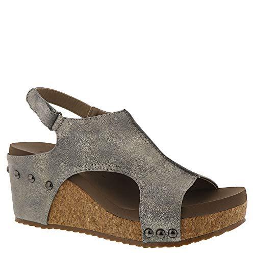 4eb9b592113822 Corkys Ingrid Women s Sandal 9 B(M) US Pewter