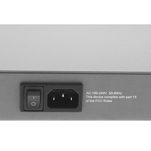 BV-Tech 8 Port Gigabit PoE+ Unmanaged Switch – 130W – 802.3at – POE-SW800G by BV-Tech (Image #3)