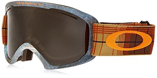 Oakley OO7045-05 O2 XL Eyewear, Copper Rhone, Dark Grey Lens by Oakley