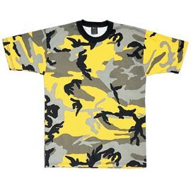 - Ultra Force 5994 Stinger Yellow Camouflage T-Shirt (X-Large)