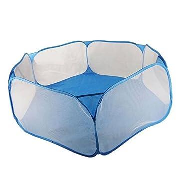 Hrph Los nuevos niños plegable Ocean Bolas piscina portable del sostenedor de la diversión de interior al aire libre juego juguete Tienda de campaña Caseta ...