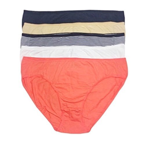Maidenform 5 Full Coverage Bikini Panties- Large