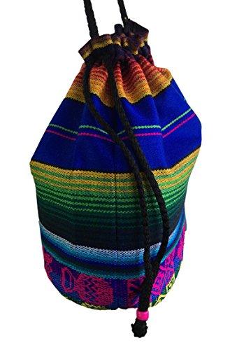 Funky Da Lavaggio Blu Spalla Scuro Colorato Nuovo Festa Mano Aztec Disegno Borsa A Viaggio Cavo qnwSfYP