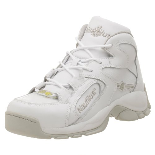 Nautilus Men's 1306 Steel Toe  Lace Up,White,11.5 W ()
