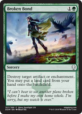 Broken Bond - Dominaria