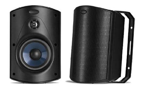 Polk Audio Atrium 5 Speakers (Pair, Black) Powersports AM5085-A