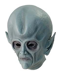 Bristol Novelty BM316 Máscara entera de Alien (Talla única)