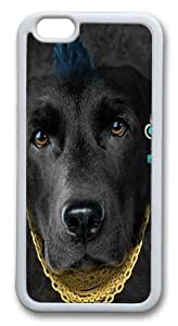 Bad Attitude Black Labrador TPU Case Cover for iphone 6 plus and iphone 6 plus 5.5 inch White in GUO Shop