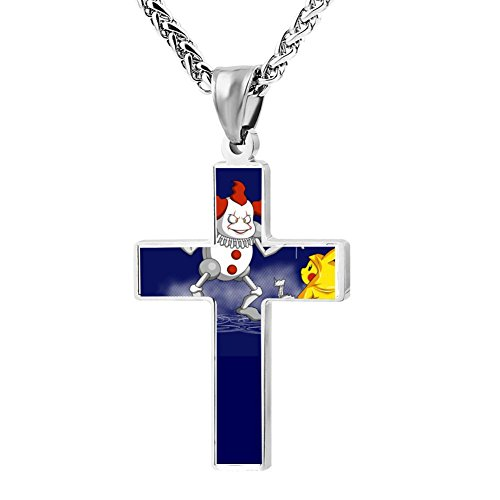 (Kenlove87 Patriotic Cross Mr.It Religious Lord'S Zinc Jewelry Pendant)