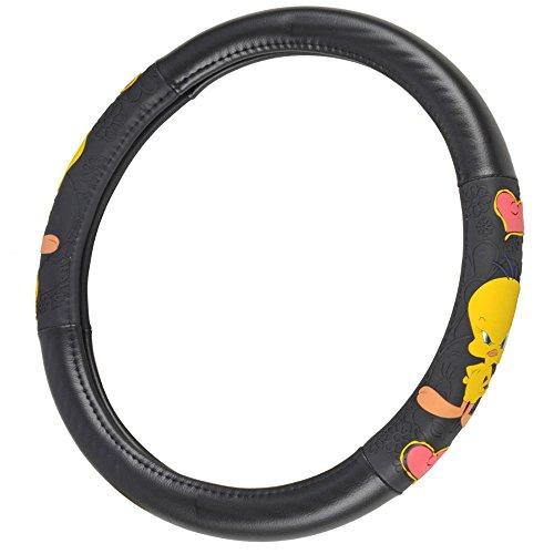 BDK Tweety Bird Comfort Grip Rubber Steering Wheel Cover