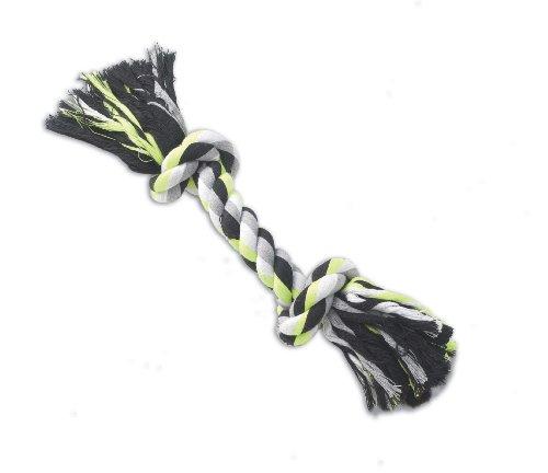 Petrageous Pet Toy Karmarope 2 Knot Rope Bone, 13-Inch