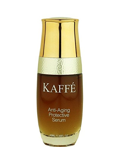 Protective Anti Aging Body Cream (Kaffé 100% All Natural Anti Aging Protective Serum Infused with 100% Organic Kona Coffee for Body, Skin Nourishment, Cleansing, & Acne Relief)
