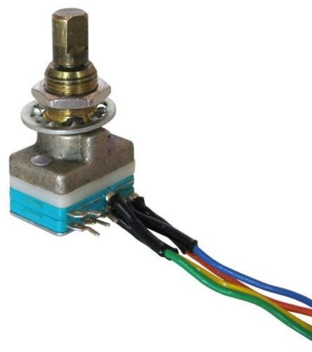 Shorting Rotary Switch (1pc Electroswitch # C1D0203S, 2-pole, 3-position, shorting Rotary Switch)