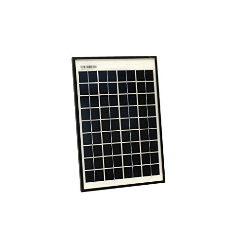 ALEKO SPU10W12V 10 Watt 12 Volt Monocrystalline Solar Panel for Gate Opener Pool Garden Driveway