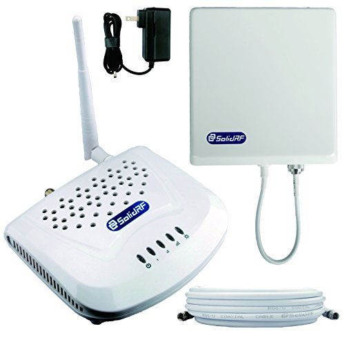 SolidRF SOHO 850 MHz / 1900 MHz Dual Band Cell Phone Signal Booster for Home and (Metro Dual Band)
